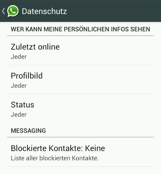 Neue Version von WhatsApp mit erweiterten Einstellungen bei der Privatsphäre nun auch im Play Store verfügbar
