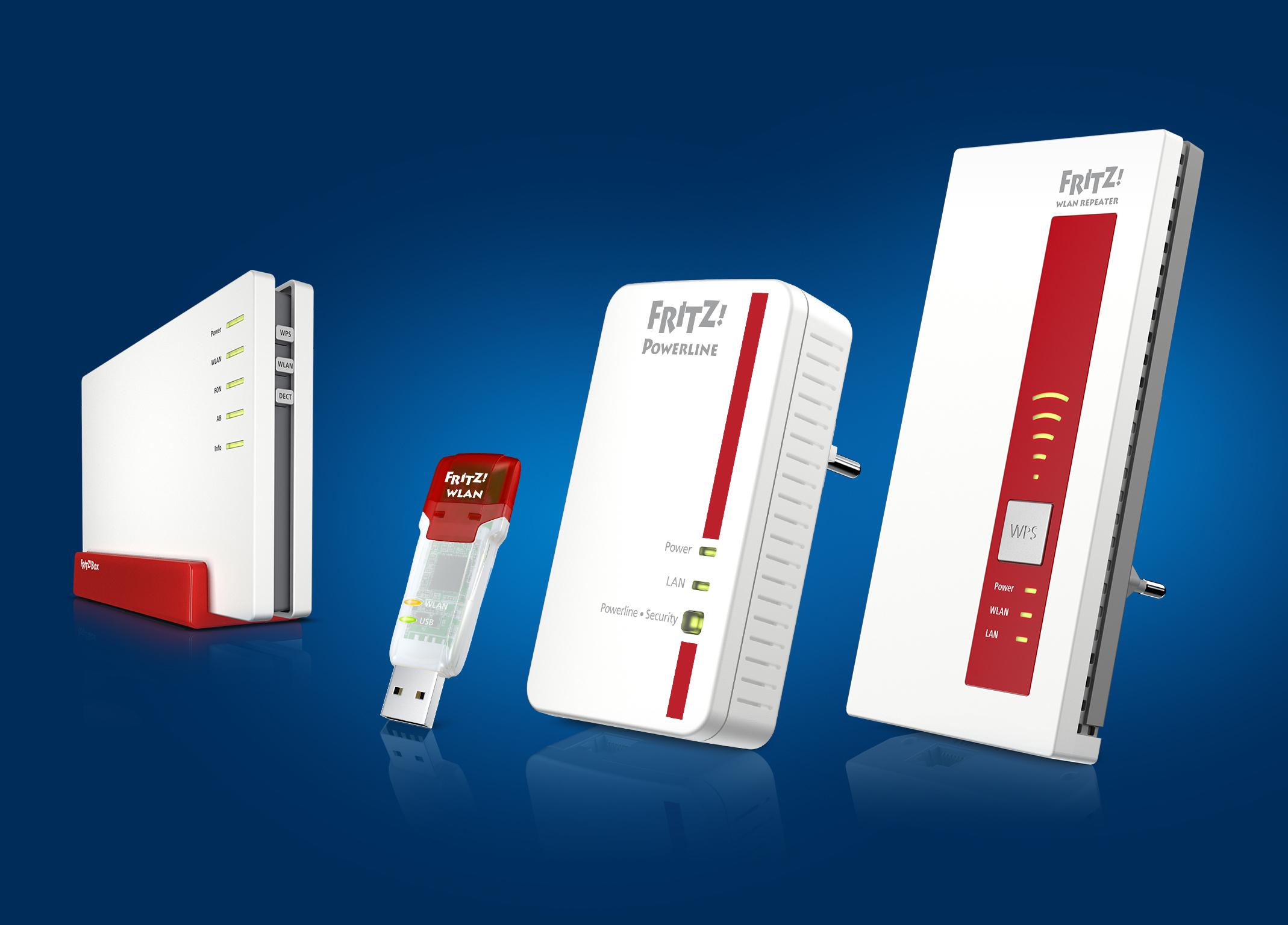 AVM verteilt FRITZ!OS 6.92 für FRITZ!WLAN Repeater 1750E &  FRITZ!Powerline 1260E zur Schließung der KRACK-Sicherheitslücke