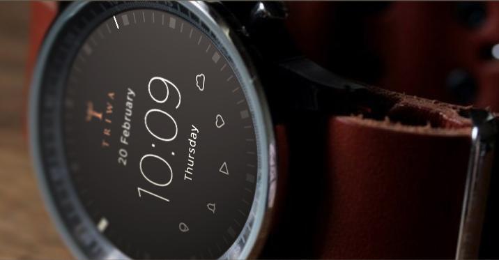 Konzept einer Smartwatch im klassischen Design