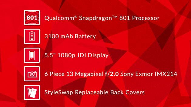 OnePlus One kommt doch mit Snapdragon 801 Prozessor von Qualcomm