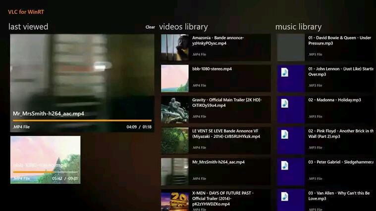 VLC als Windows App für Windows 8/ 8.1 als erste BETA endlich im Windows Store