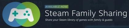 """""""Steam Family Sharing"""" verlässt BETA-Phase und ist nun öffentlich verfügbar"""