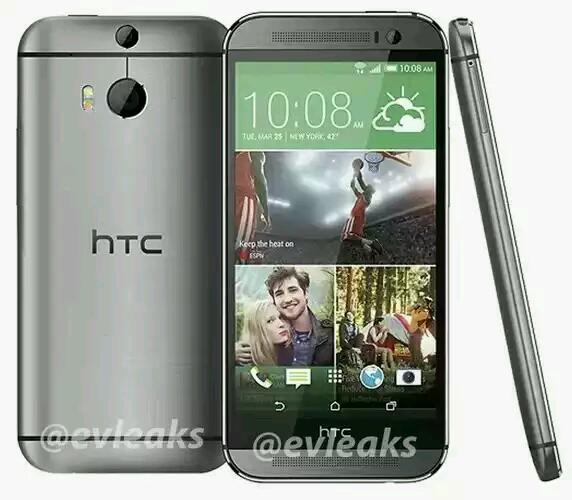 """Das """"Neue HTC One (2014)"""" durch Prospekt fast vollständig enthüllt"""