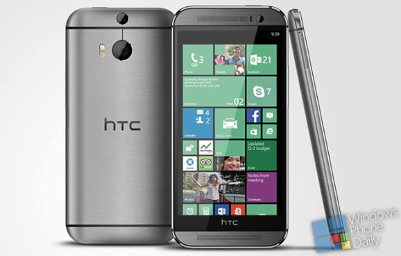 Sehen wir bald ein HTC One M8 mit Windows Phone 8.1 ?