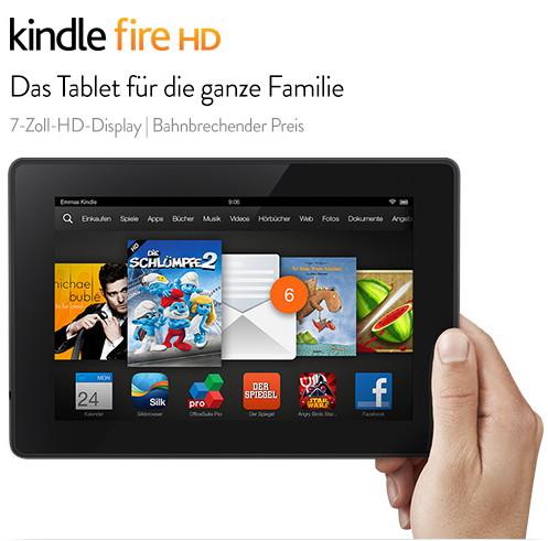 Es ist Fire-Tag bei Amazon Das Kindle Fire schon ab 79,-  Euro
