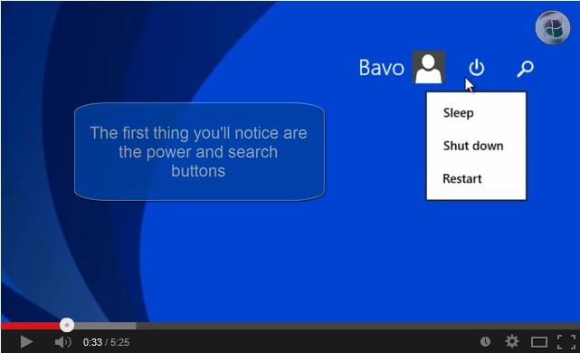 Alles neue zum Windows 8.1 Update (1) in einem Video