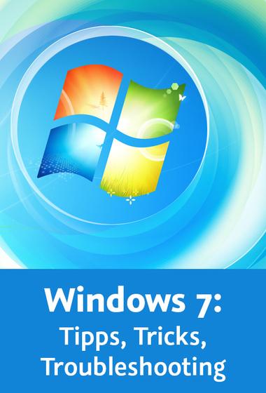 """Günter Born: Videotraining """"Windows 7"""" und ein Blitzgewinnspiel"""