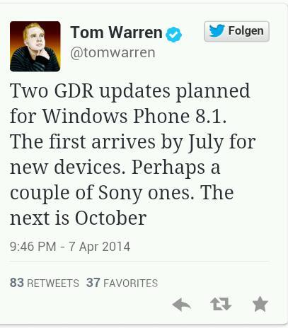 Zeigt Sony uns im Sommer doch ein Windows Phone Gerät ?