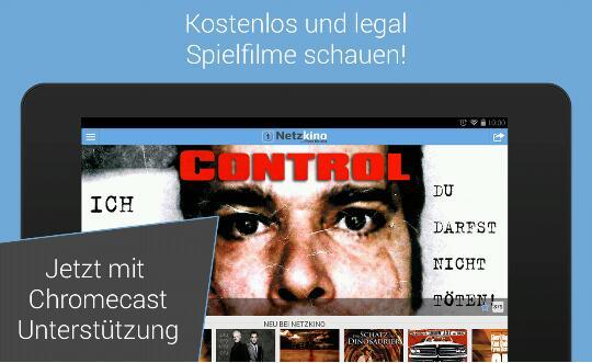 Netzkino nun ebenfalls mit Chromcast Unterstützung