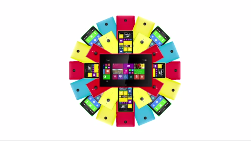 """Microsoft mit erster """"Nokia""""-Werbung"""