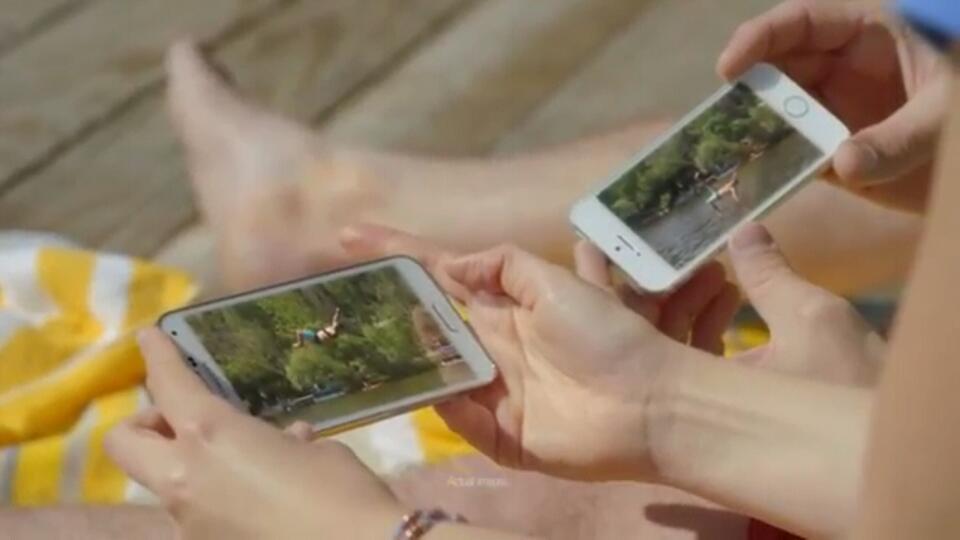 Samsung stichelt im neuen Werbespot wieder gegen Apple