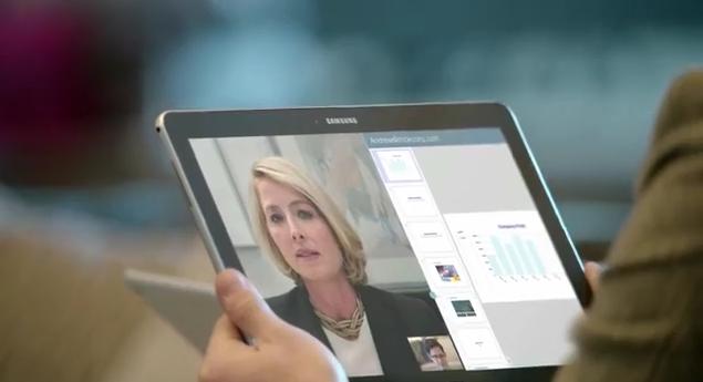 Samung stellt neue Spots zur Galaxy Pro Tablet-Serie online