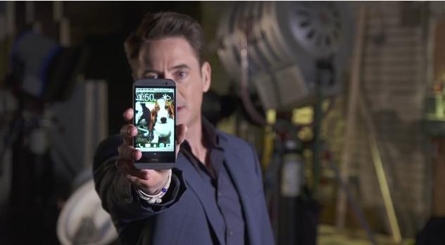 Robert Downey Jr. mit neuem Werbespot zum HTC One (M8)