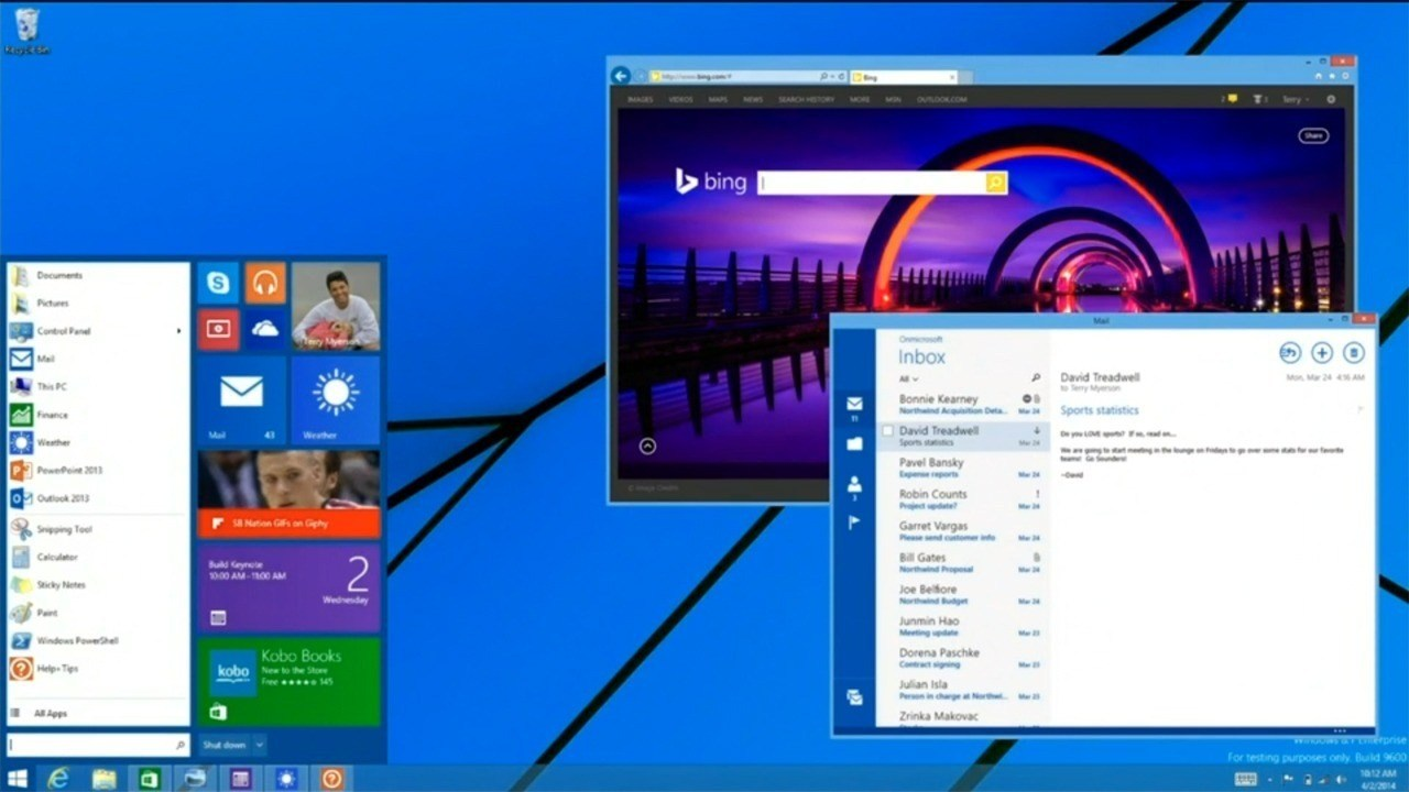 Windows 10, Office 2015 und Office Touch – neue Leaks verraten Details