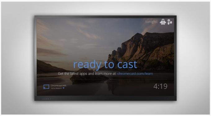 Chromecast demnächst mit erweitertem Homescreen