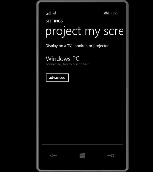 Project My Screen bring Bildschirminhalte von Windows Phone 8.1 auf den Windows-PC