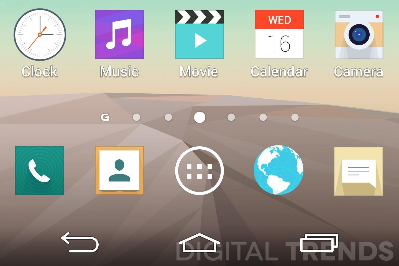 Neue Oberfläche vom kommenden LG G3 zeigt sich erneut