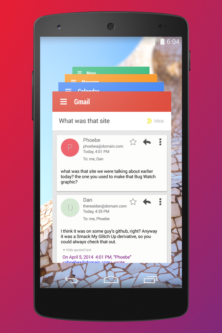 Kommt eine neue Navigation Bar und In-App-Sprachkommandos mit der kommenden Android-Version ?