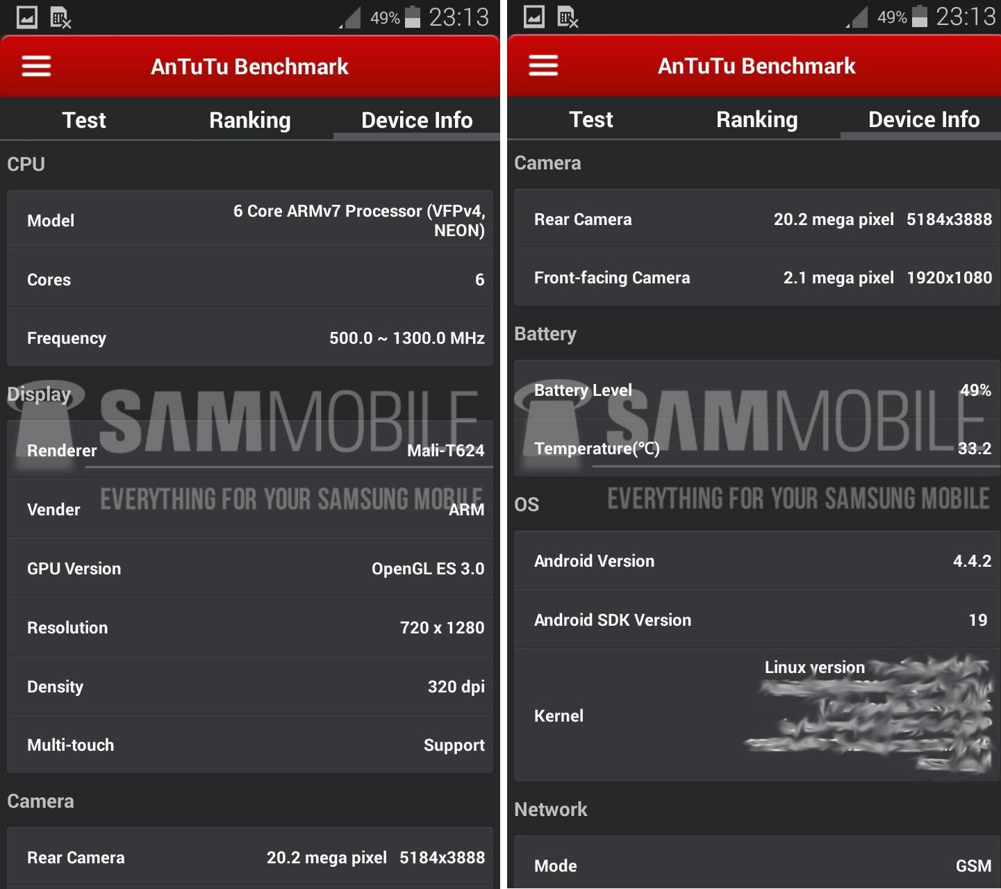 Samsung Galaxy S5 Zoom Spezifikationen aufgetaucht