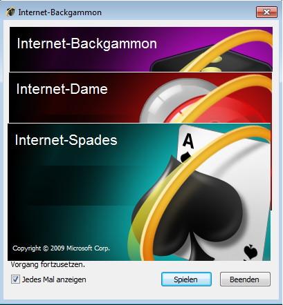 spiele auf windows 7