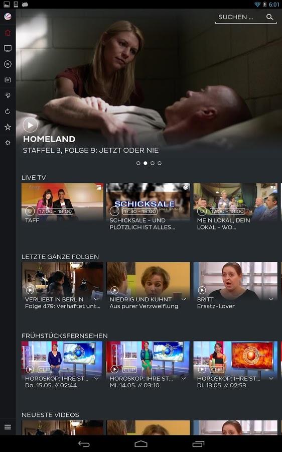 """ProSiebenSAT.1 AG veröffentlicht """"7TV"""" App zum Anschauen der Mediatheken-Inhalte und Livestreams"""