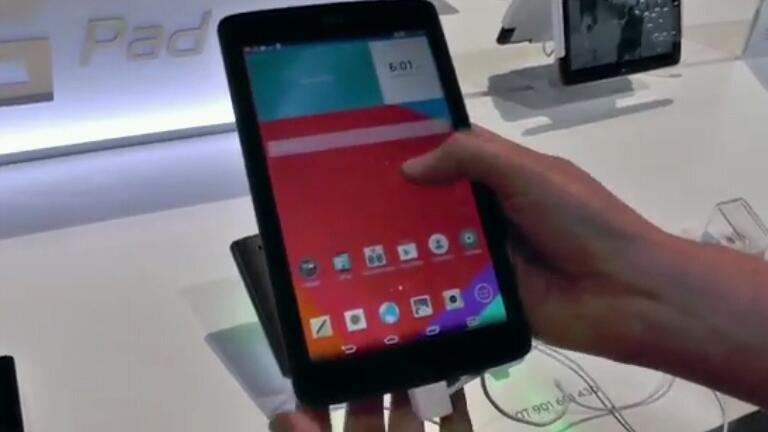 Hands On Video zu den kommenden LG G Pad Tablets