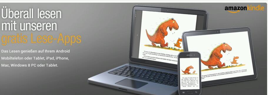 Kindle Cloud Reader nun auch bei uns verfügbar