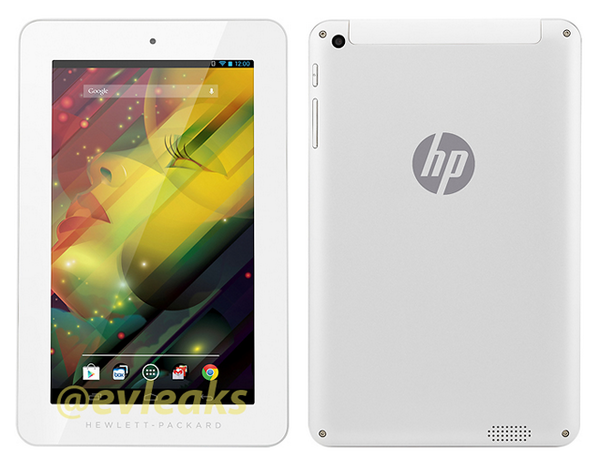 Bild eines neuen HP-Tablets mit Android geleakt