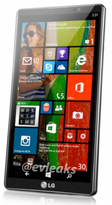 LG Uni8: Kommt ein Windows Phone 8.1 Smartphone von LG ?