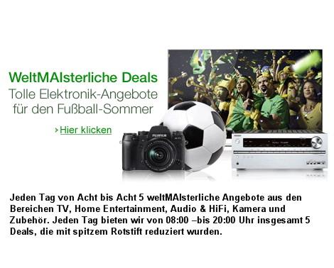 Amazon Aktionen WeltMAIsterliche Deals Fernseher & Heimkino, Audio & HiFi, Kamera und Zubehör