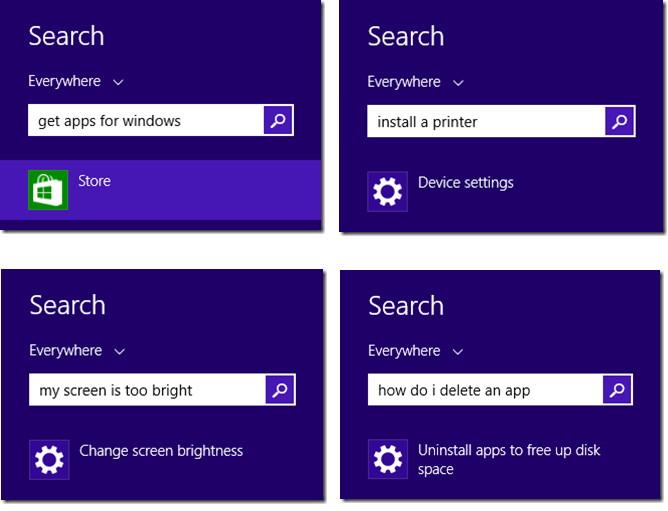 Die Suchfunktion in Windows 8.1 wird immer besser