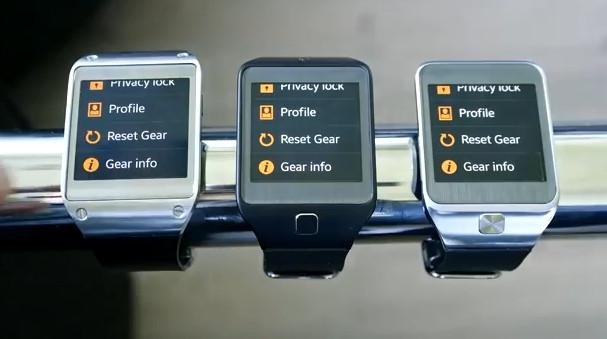 Samsung Galaxy Gear mit Tizen als Preview im Video
