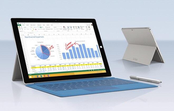 Microsoft Surface Pro 3 offiziell vorgestellt – größer, dünner, schneller