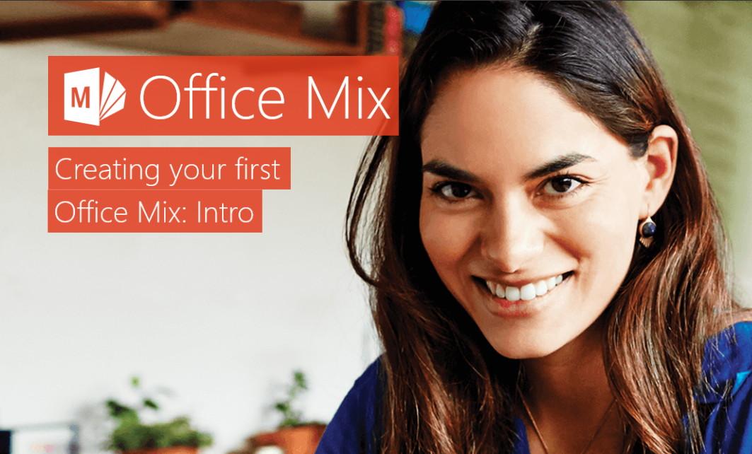 Office Mix nun mit einer Vorschau und Download