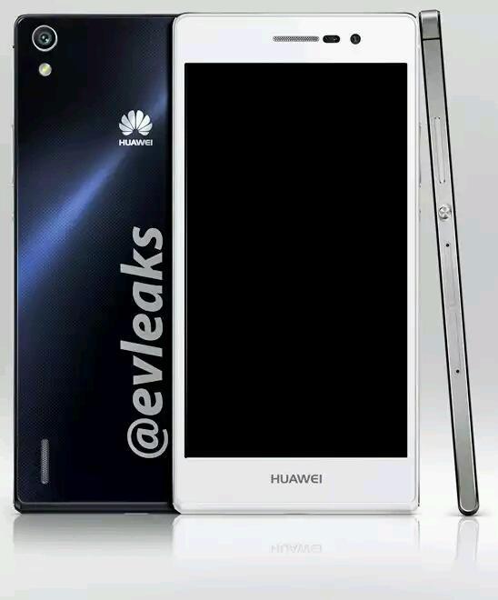 Pressebilder vom kommenden Huawei Ascend P7 geleakt