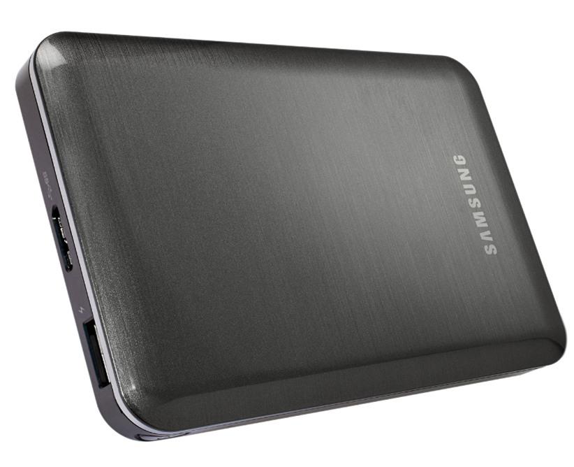 """Kabelloser Mediaplayer """"Samsung Wireless"""" bringt 1,5 TB Festplatte, Aufladefunktion für mobile Geräte und WLAN zum Streaming mit"""