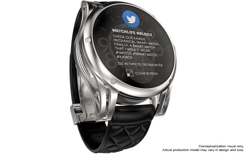 Klassik und Moderne vereint: Die neue Smartwatch von Kairos