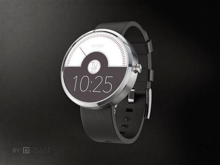 Watchfaces für die Moto 360