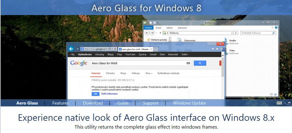 Aero Glass ab jetzt unter neuer Web-Adresse erreichbar