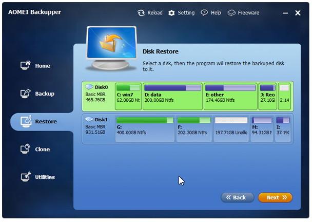 Kurzinfo: Backup Programm Aomei Backupper  Pro kostenlos
