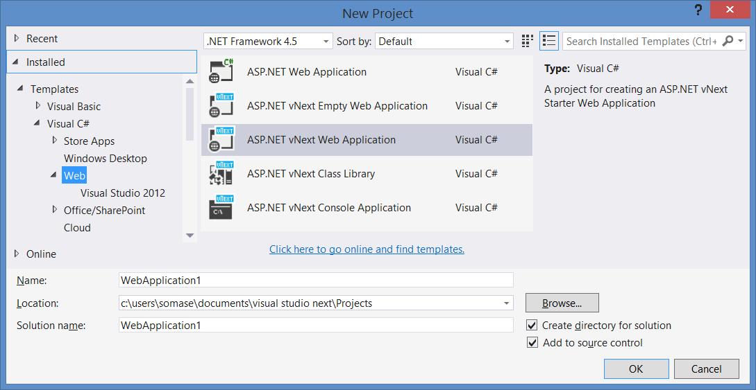 Microsoft stellt Download der Technical Preview von Visual Studio 14 online