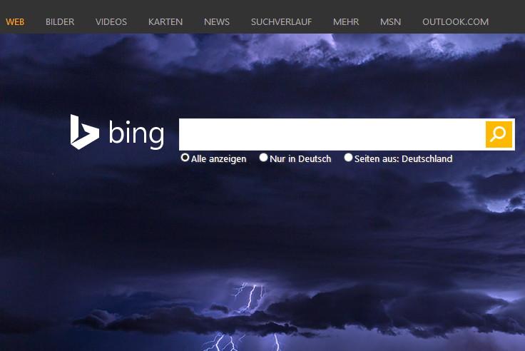 Nach Google will  auch Bing ein Formular zum Löschen von Einträgen bereitstellen
