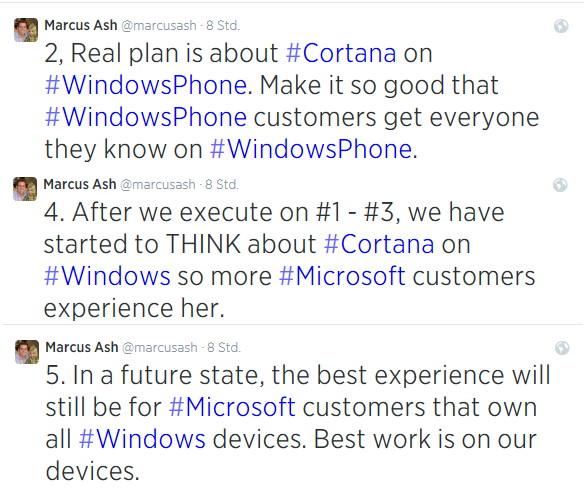 Cortana vorerst doch nicht auf Android und iOS. Dafür auf Windows