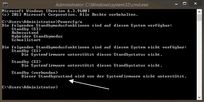 Windows Instant Go : Was ist instantgo standby verbunden deskmodder
