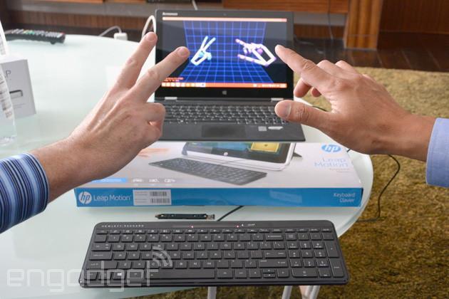 Tastatur mit integriertem Leap Motion noch in diesem Sommer