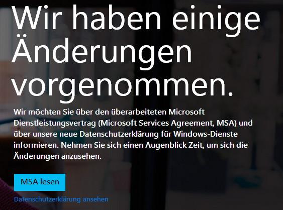 Microsoft überarbeitet Nutzungsbedingungen für seine Dienstleistungen