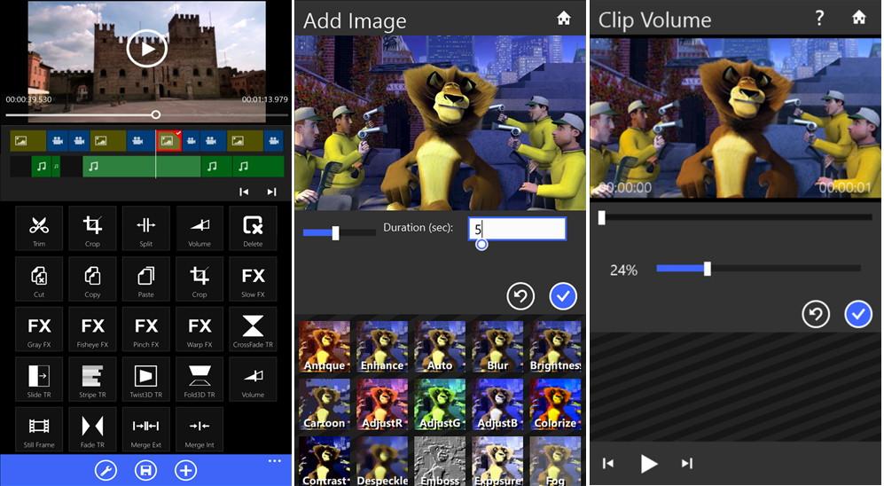 Movie Maker 8.1 für das Windows Phone 8.1 für 3 Tage kostenlos