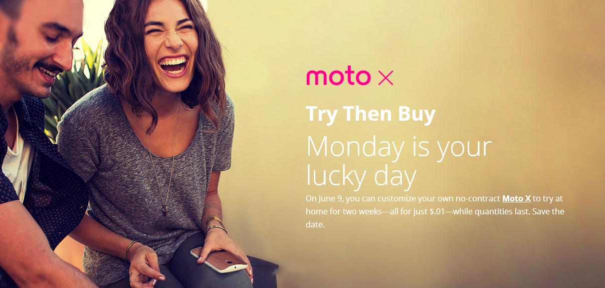 """""""Erst testen, dann kaufen"""" – Motorola mit """"Try then buy"""" für das Moto X"""