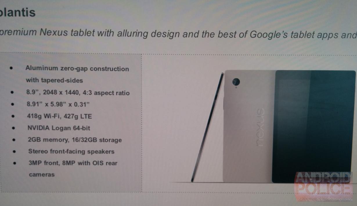 """Wird das """"HTC Volantis"""" das Nexus 9 werden ?"""