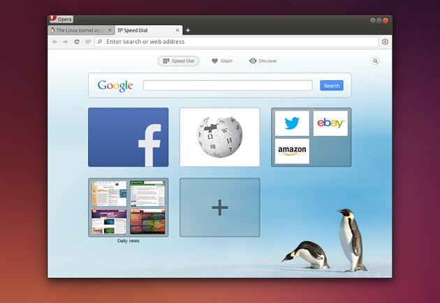 Opera 24 nun auch für Linux